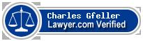 Charles Francis Gfeller  Lawyer Badge