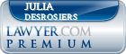 Julia Mahaffey Michelle Desrosiers  Lawyer Badge