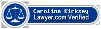 Caroline Rene Kirksey  Lawyer Badge