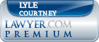 Lyle Young Courtney  Lawyer Badge