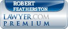 Robert Henry Featherston  Lawyer Badge