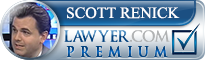 Scott Oren Renick  Lawyer Badge