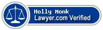 Holly R. Monk  Lawyer Badge