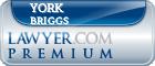 York Mcmillan Briggs  Lawyer Badge