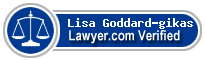 Lisa Darling Goddard-gikas  Lawyer Badge