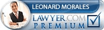 Leonard C. Morales  Lawyer Badge