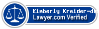 Kimberly Kay Kreider-dusek  Lawyer Badge