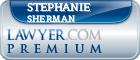 Stephanie Sherman  Lawyer Badge