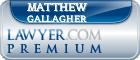 Matthew John Gallagher  Lawyer Badge