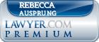 Rebecca Elaine Ausprung  Lawyer Badge
