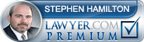 Stephen Lyle Hamilton  Lawyer Badge