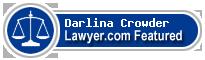 Darlina Crowder  Lawyer Badge