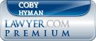 Coby Michael Hyman  Lawyer Badge
