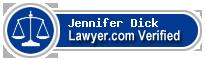 Jennifer Habert Dick  Lawyer Badge