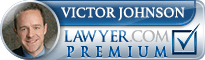 Victor Calvin Johnson  Lawyer Badge