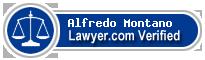 Alfredo Montano  Lawyer Badge