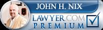 John Houston Nix  Lawyer Badge