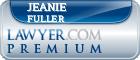 Jeanie Rebecca Fuller  Lawyer Badge