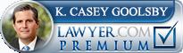Casey Goolsby  Lawyer Badge