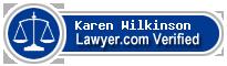 Karen Sue Wilkinson  Lawyer Badge