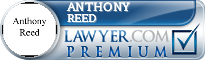 Anthony Wayne Reed  Lawyer Badge