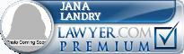 Jana Landry  Lawyer Badge