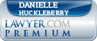 Danielle Monique Huckleberry  Lawyer Badge