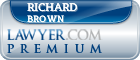 Richard Allen Brown  Lawyer Badge