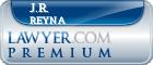 J.R. Reyna  Lawyer Badge