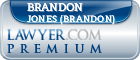 Brandon Scott Jones (Brandon)  Lawyer Badge