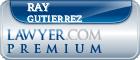 Ray Gutierrez  Lawyer Badge