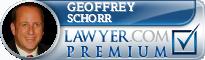 Geoffrey Emerson Schorr  Lawyer Badge