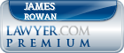 James Matthew Rowan  Lawyer Badge