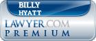 Billy Blue Hyatt  Lawyer Badge