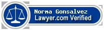 Norma Elena Gonsalvez  Lawyer Badge
