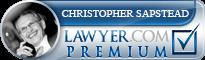 Christopher Hugh Sapstead  Lawyer Badge