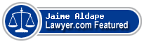 Jaime Aldape  Lawyer Badge