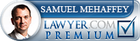 Samuel Mehaffey  Lawyer Badge