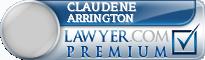 Claudene Tyler Arrington  Lawyer Badge