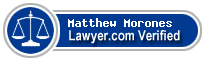 Matthew Taylor Morones  Lawyer Badge