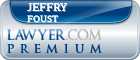 Jeffry B. Foust  Lawyer Badge