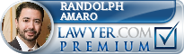 Randolph James Amaro  Lawyer Badge