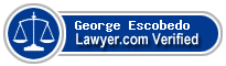 George Pablo Escobedo  Lawyer Badge