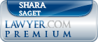 Shara D. Saget  Lawyer Badge