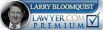 Larry Dean Bloomquist  Lawyer Badge