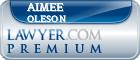 Aimee Cook Oleson  Lawyer Badge
