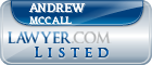 Andrew Mccall Lawyer Badge