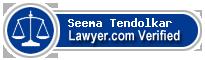 Seema Tendolkar  Lawyer Badge