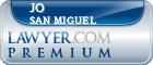Jo Ann San Miguel  Lawyer Badge