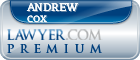 Andrew C. Cox  Lawyer Badge